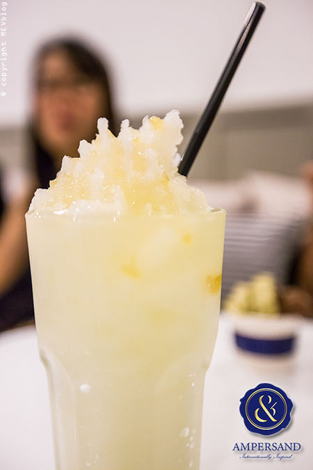 Frozen Yuzu Drink