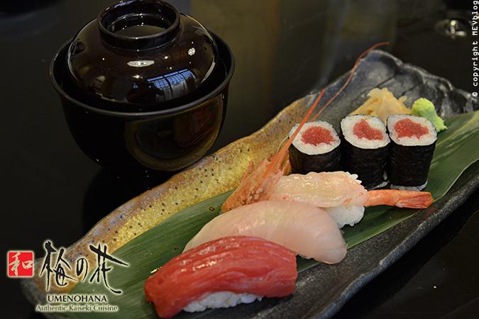 Nigiri Sushi & Tekka Maki
