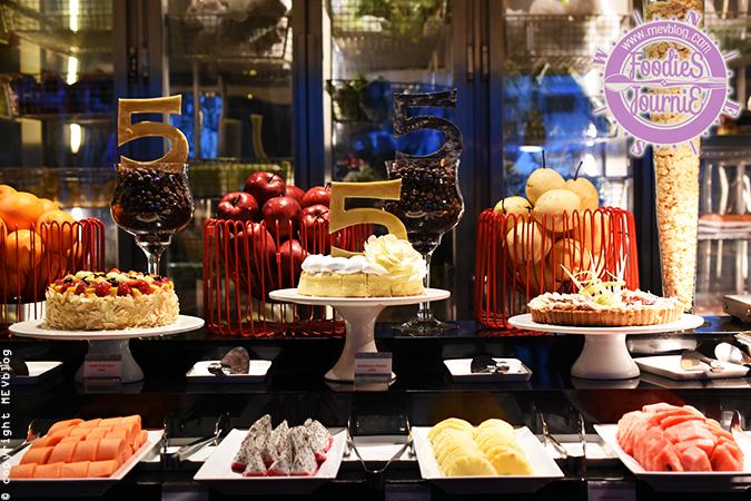 Celebrating 5th anniversary - Flavors, Renaissance Hotel