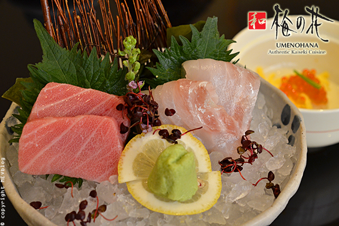 Otoro and Madai Sashimi
