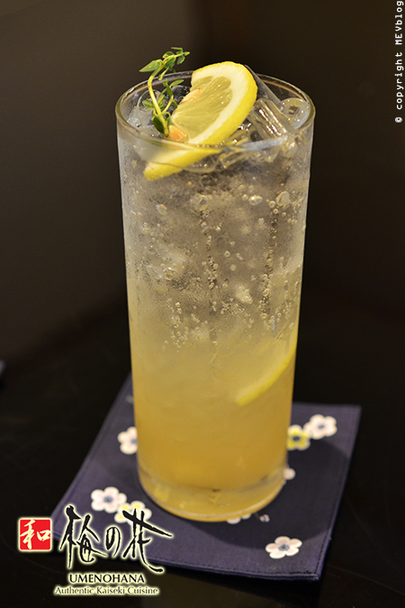 Yuzu Lemon Soda
