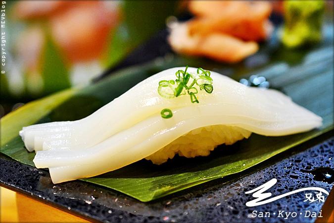 Ika Sushi (70 บาท)