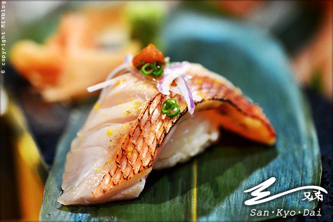 Kinmedai Sushi (310 บาท)