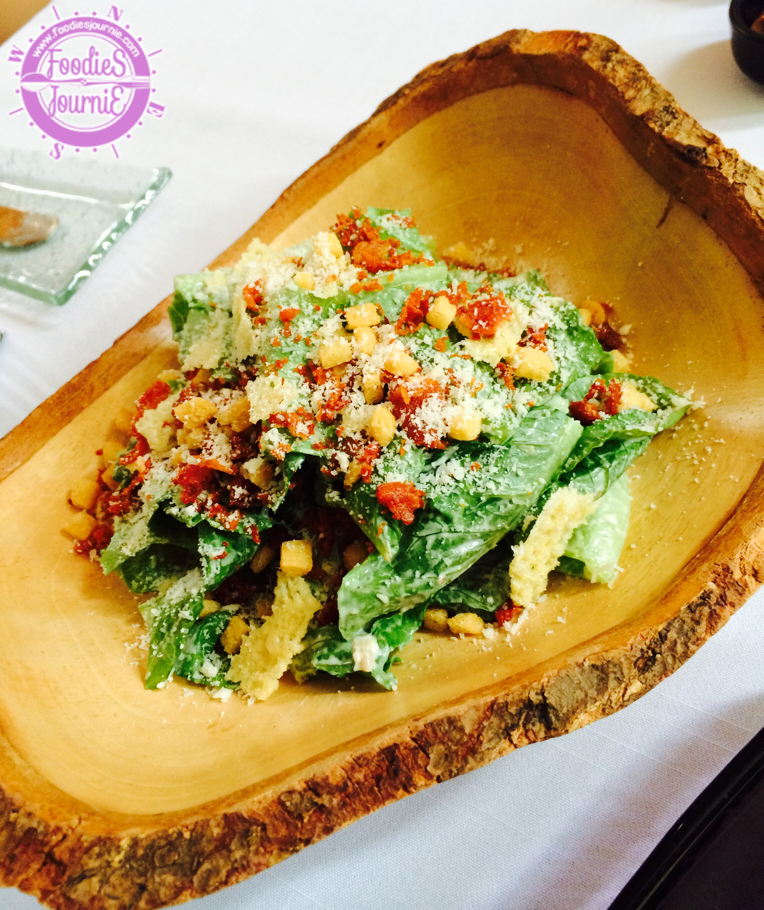 Whale's Belly Caesar Salad