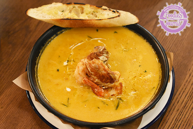 River Prawn Bisque (340B)
