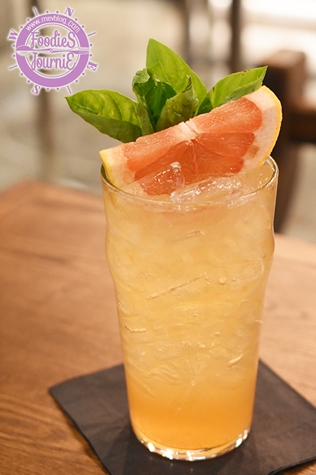 Grapefruit Elderflower Soda 145B