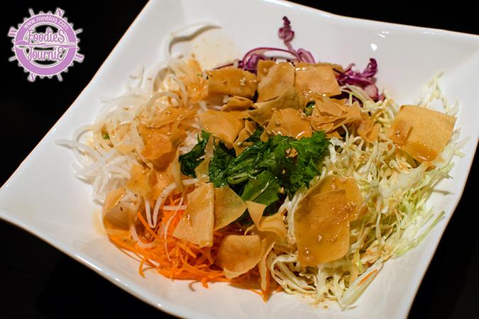 Botejyu's Crispy Salad (Sesame Dressing)