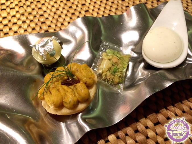 อาหารอินเดียที่ใช้เทคนิค Molecular Gastronomy เข้ามาช่วยเพิ่มลูกเล่นน่าตื่นตา