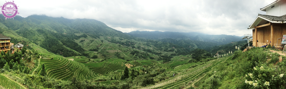 นาขั้นบันไดหลงจี๋ (Longji Rice Terraces)
