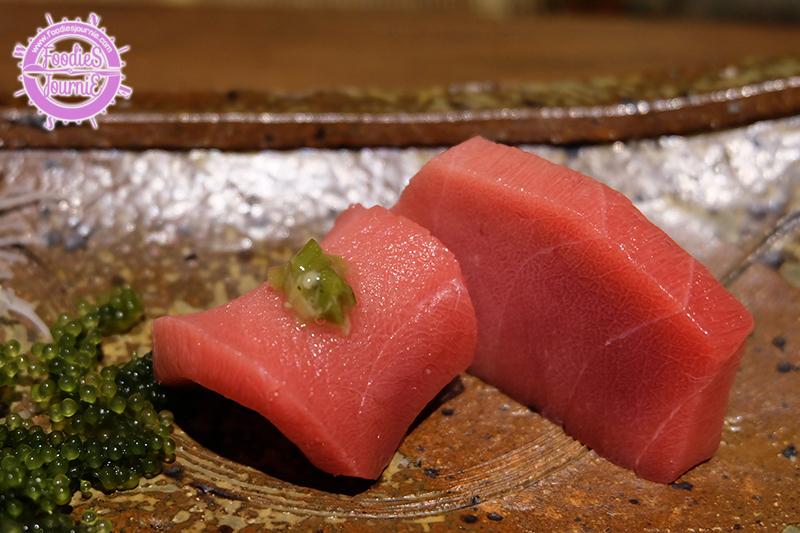 Chutoro Sashimi