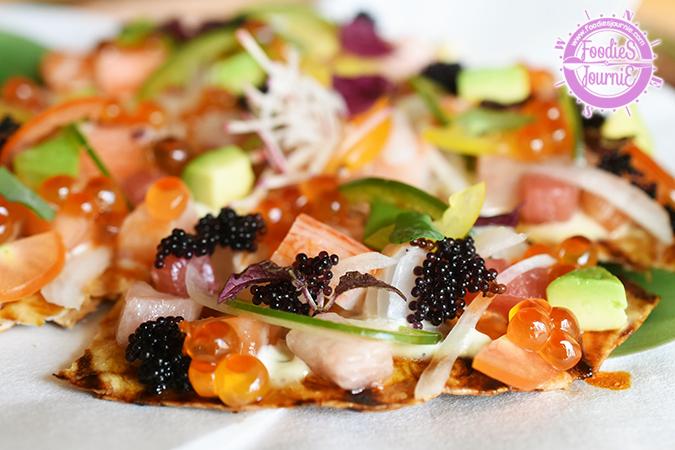 Sashimi Pizza 2