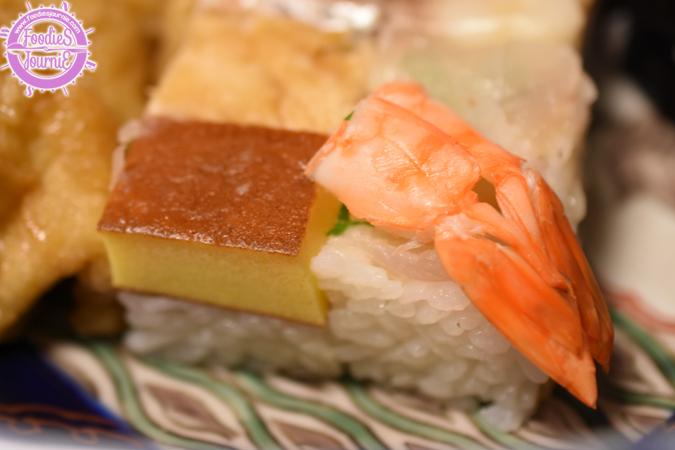 Oshizushi = box sushi