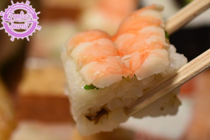 Oshizushi = pressed sushi